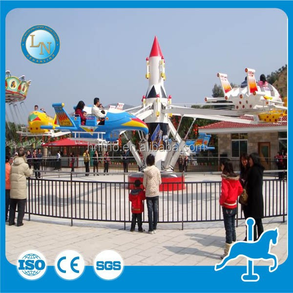 Theme park playground equipment children self control airplane/plane helicopter rides for sale