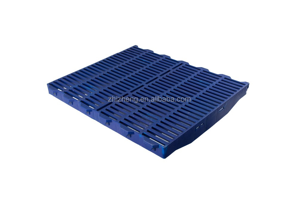 2017 Zhi Zheng enviroment-friendly Hard Pig Plastic Floor PVC Poultry Floor