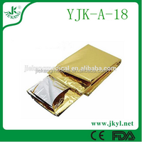 YJK-A-18 high quality emergency rescue blanket for sale;