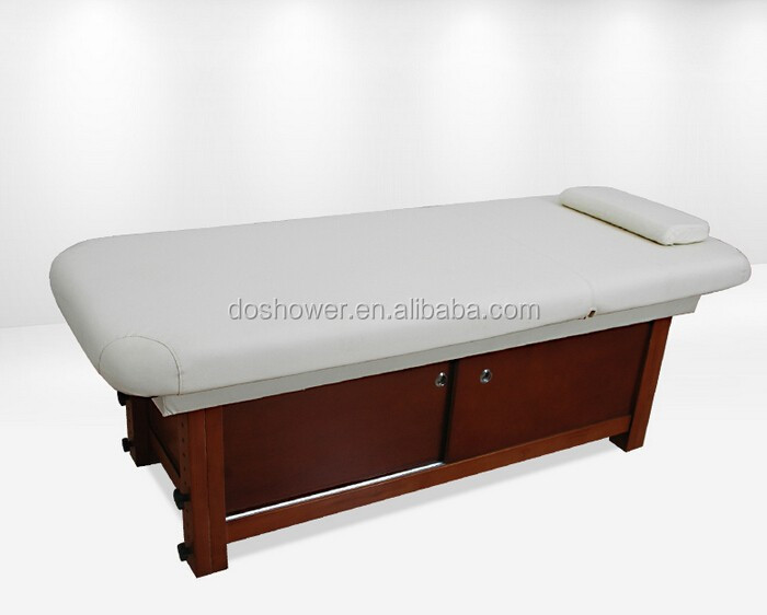 DS-MT05 Simple design wooden facial bed for sale for other spa supplies