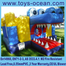 New design crocodile/alligator inflatable bouncer,inflatable jumping castle,inflatable moon bounce