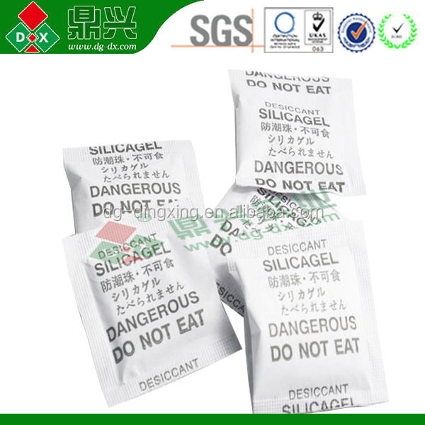 Silica Gel Small Pack Inert Moisture Absorber For Sale Factory