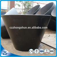 high quality bell reducer in pipe fittings carbon steel with 3pe