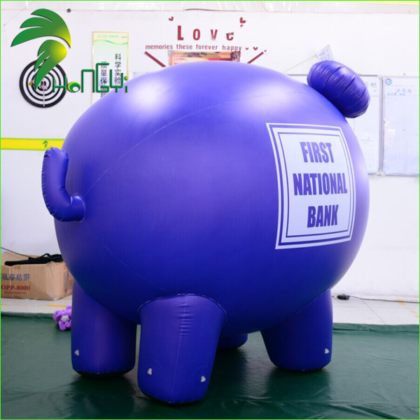 Customized Inflatable Pig Cartoon Balloon for Advertising