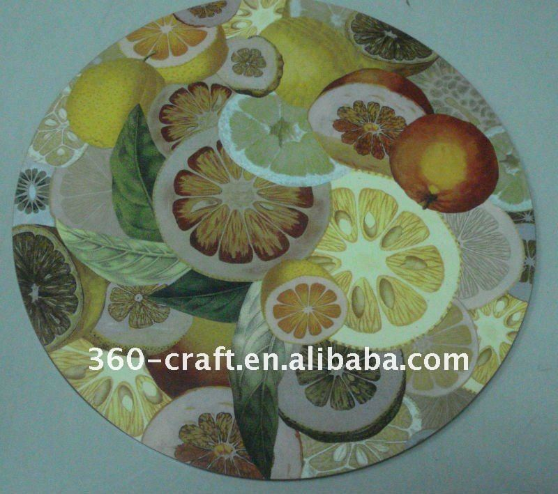 round/ /square dinning MDF table placemats/hot pot mat