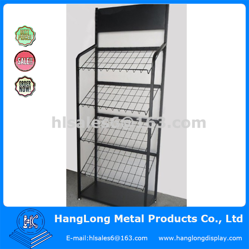 metal wire mesh stand rack outdoor furniture