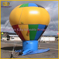 Inflatable advertising ground balloon,design inflatable tire advertising