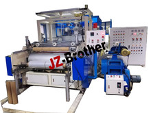LLDPE 1000mm Double layer PE stretch film machine