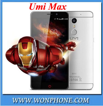 Wholesale Umi Max Smartphone MediaTek Helio P10 Octa Core FDD LTE 4000Mah 5.5inch 1920*1080 FHD 4G Android 6.0 Type C <strong>Phone</strong>