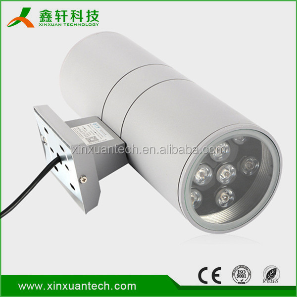 Modern 12W Warm White Aluminum high quality Exterior Led Wall Lighting