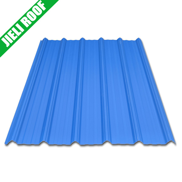 blue color Corrugated sandwich roof panels/ PVC roof sheet/roof tiles