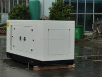 Canopy type 3 Phase 60HZ new design diesel standby power 100kw generator price Powered by Chinese engine