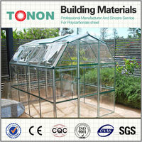 greenhouse clear manufacturer polycarbonate as canopies for houses