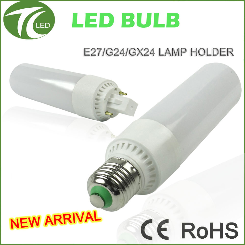 hg light bulb G24 E27 GX24 led corn lamp dimmable IP20 replace halogen
