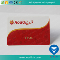 Custom PVC Plastic Card with Embossing Serial Numbers/Magnetic Stripe/Barcode/QR Code