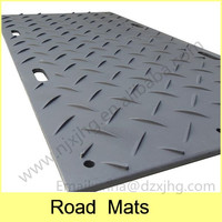 High Density Polyethylene (HDPE) construction ground road mats