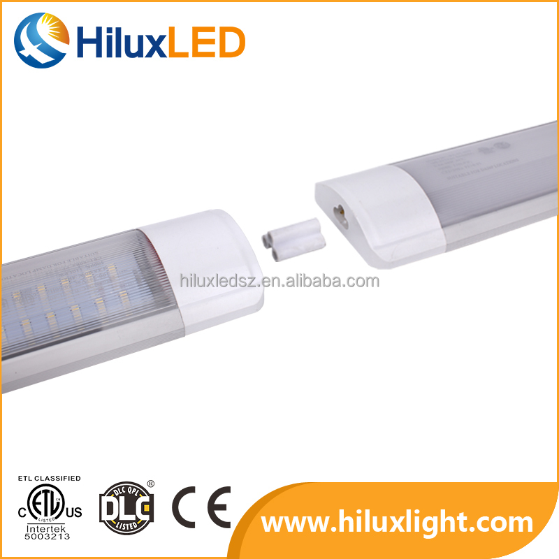 DLC&ETL Listed,Ra>80 Cheap T8 Led Light Bar Lighting Tube 2ft 20w 4ft 40w Led Ceiling Lights with High Evaluation