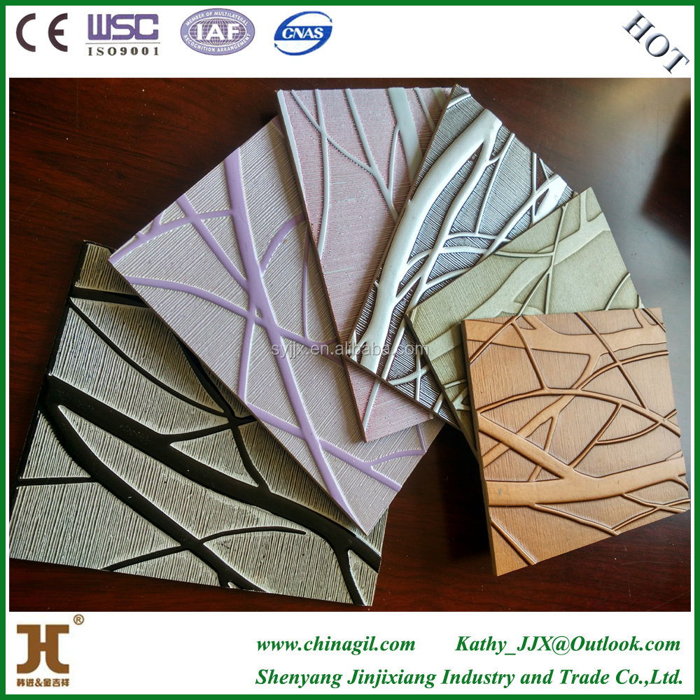 New technology 2016 waterproof bathroom wall covering panels with pvc wall panel in China