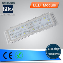 Environment protect high performance import chip 60w 4800lm led street light module repair parts