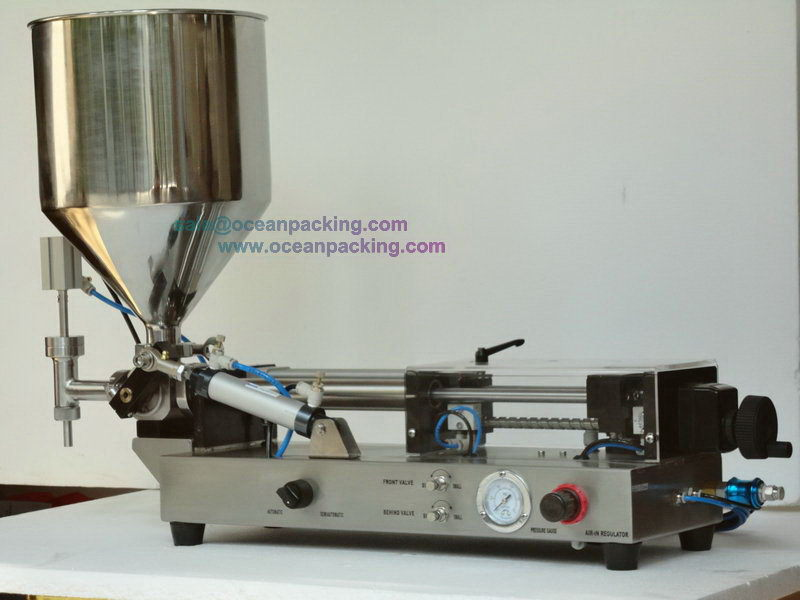 Customized hot-sale manual small juice filling machine