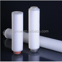 10 Inch 5 Micro Color Removal and Clarification Activated Carbon Filter Cartridge For Food&Beverage Industry Filtration