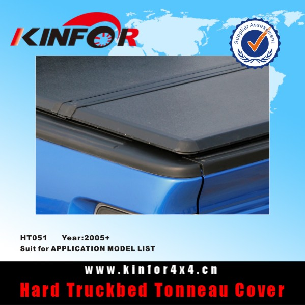 Hard Folding Tonneau Cover for Nissan Navara D22 Double Cab 1.48M Bed Model 2005+