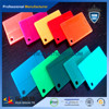 Poly methyl methacrylate sheets for decoration