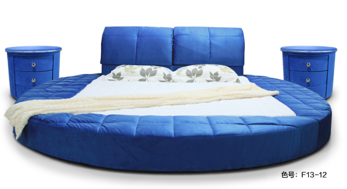 New Fresh King Size Blue Round Bed On Promotion B21 Buy