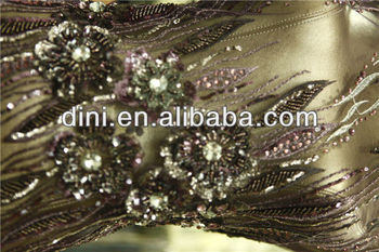 Wholesale hand work beaded embroidery fabric - Alibaba.com