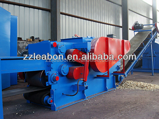 Waste Wood Drum Chipper for Processing Wood Chips