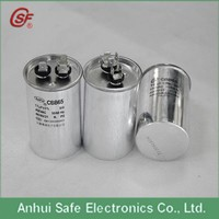 air conditioner capacitor 450VAC 20uf 2*4terminal 45*70mm