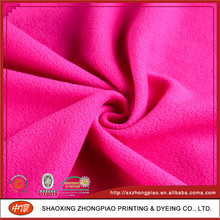 Best Selling Cheap Knitted Brushed micro fleece fabric
