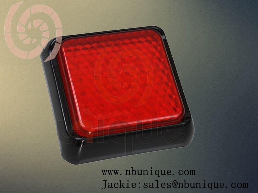 universal truck tail light lens color red,white amber is also accept