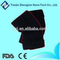 Nano healthcare tourmaline thermo electric effect knee bandage