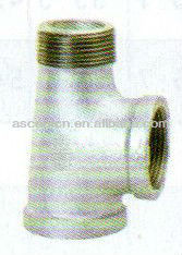 malleable iron pipe fittings ANSI service Tee