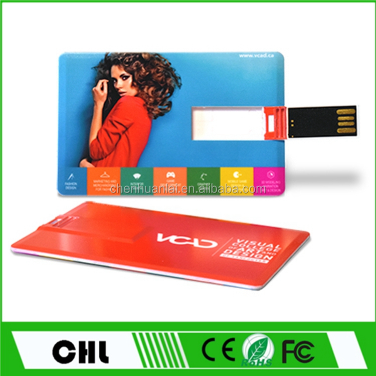 1GB - 64 GB Wafer Usb Card For Business Promotion