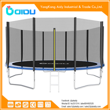 cheap 15ft outdoor trampoline park with safety net