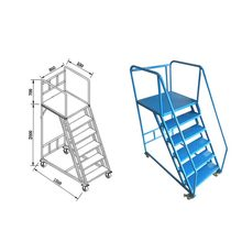 Quick Step Ladder Stainless Steel Ladders Railing Ladder