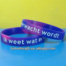 Cheap Swirl Color Debossed Silicone Wristband/ bulk cheap silicone wristbands/meaningful silicone wristbands