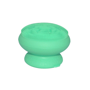 BPA Free Eco-friendly Baby Shower Gifts Soft Silicone Massage Brush Baby Bath Accessories Baby Bath Sponge