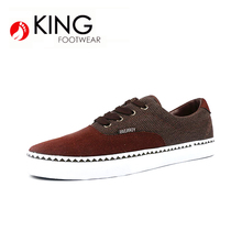 Hot Sale Comfortable Dark red stitching sport shoes men casual