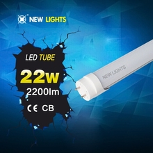 Rohs&saa approval new design young tube 18w t8 led red tube xxx flexible led tube