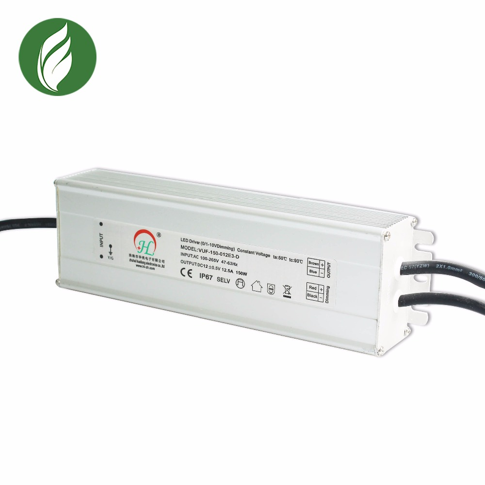 China manufacturer power supply led driver dimmable 12v waterproof led driver 150w
