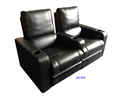 Recliner sofa for cinema and home theater