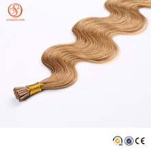 Top quality Hot Sale Virign Brazilian Hair Extension ,Pre-bonded I Tip Silky Straight No Shed&Tangle i tip hair extension