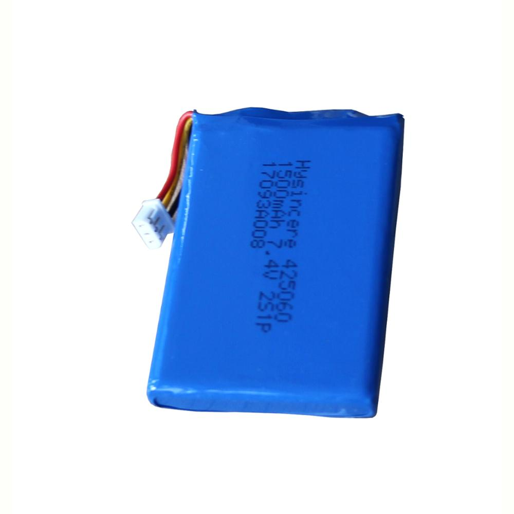 425060 7.4 В 1500 мАч литий-полимерный аккумулятор ячеек мягкой упаковке для pos машины