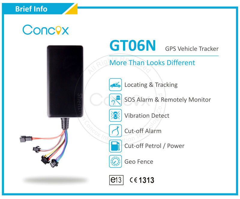 65% market share in Asia low-end fleet management market, most cost-efficient and popular multi-function China GPS tracker GT06N