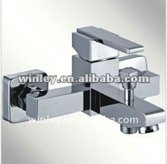 wall mounted single lever bath shower faucets