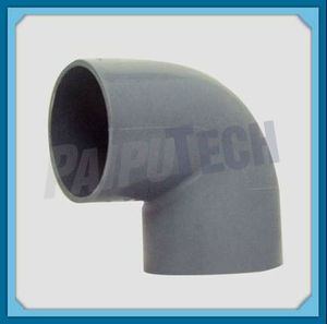 Plastic Pipe Fitting PVC 90 Degree Bend