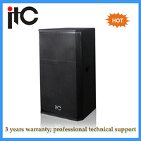 Hot in Taiwan Professional Sound System Two Way 600 watt speakers